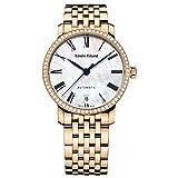 Louis Erard donna Excellence Diamond 33mm orologio automatico 68235PS04.BMA52...