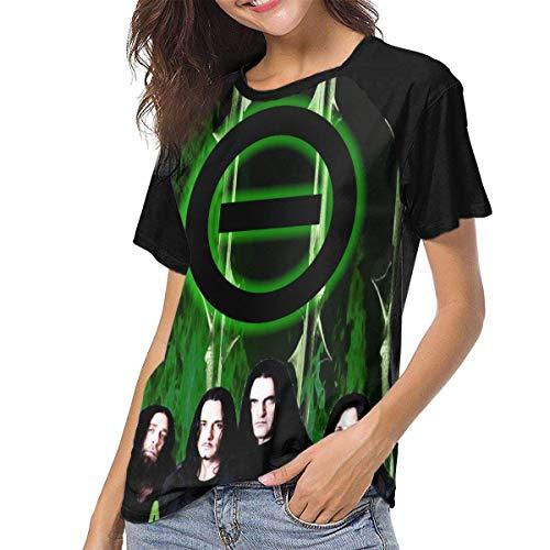 Yuanmeiju Camiseta para Mujer,Camisa Type O Negative Women's Baseball tee Short Sleeve Round Neck Casual Tops y Blusas