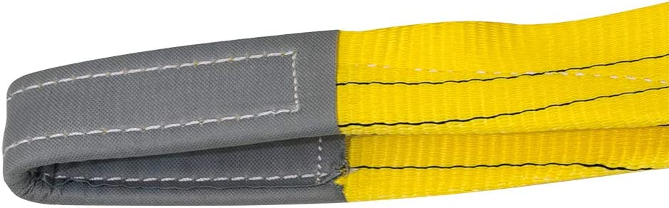 larghezza 90/mm Petex 47103519/hebeband WLL 3.000/kg lunghezza 5/m Giallo