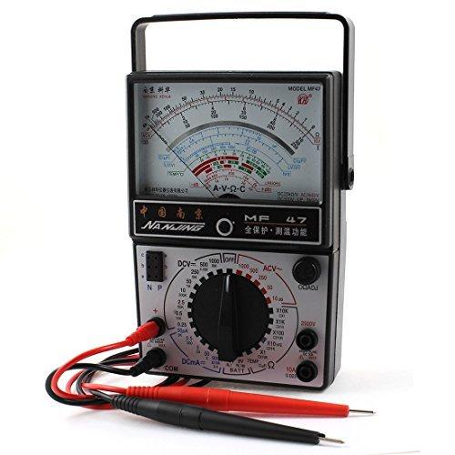 Resistencia DealMux 1R-1MR AC DC voltios de corriente del amperímetro analógico multímetro de...
