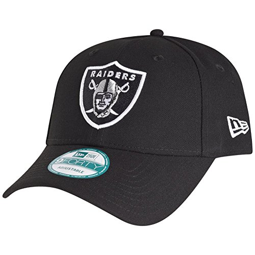 New Era 9Forty Cap - NFL League Oakland Raiders schwarz