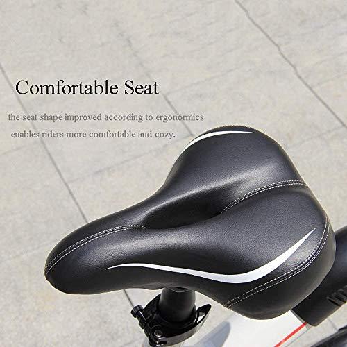 """OUXI - Bicicletta elettrica per adulti, con ruote da 250 W, 7,8 Ah, 36 V, 12"""", leggera, pieghevole, per uomo, sportiva, fitness, esterno (bianco)"""