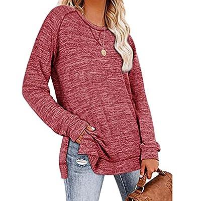 Pure Color Casual Sweatshirt