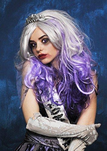 Magic Box Femmes Deluxe Violet Zombie Prom Queen Perruque
