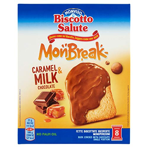 Monviso Biscotto Salute Monbreak Caramel & Milk - 168 g