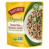Tasty Bite Brown Rice With Quinoa and Lentils, Microwaveable Ready to Eat Entrée, 8.8 oz Pouch,...