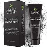 Máscara Quita espinillas Camden Cosmetics – Carbón Activado Quita Espinillas – Mascarillas...