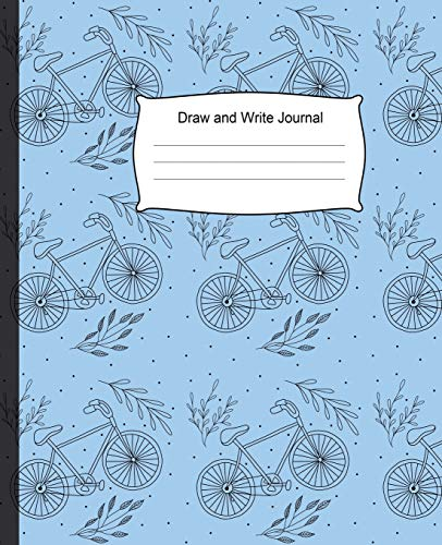 Draw and Write Journal: Notebook for Kid Story Paper with Picture Space for Title, Drawing Journals, Illustrations and Centered Dotted Lines for ... Grade 100 pages, 7.5 x 9.25 Inches.