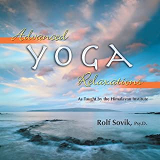 Advanced Yoga Relaxations audiobook cover art