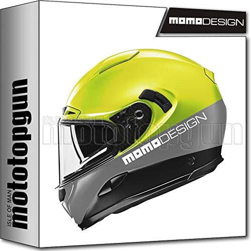 MOMO DESIGN INTEGRALHELM HELM MOTORRAD HORNET FLUO GELB SZ. XL