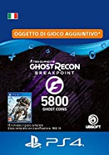 Ghost Recon Breakpoint - 4800 (+1000) Ghost Coins 5800 Coins | Codice download per PS4 - Account italiano