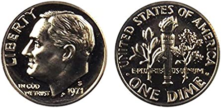 1971 S Proof Roosevelt Dime PF1