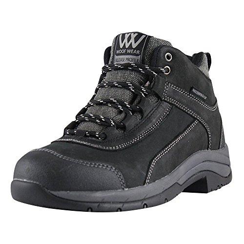 Funda de piel con funda impermeable para adultos Woof Wear Horizon de acero de botas 4-12
