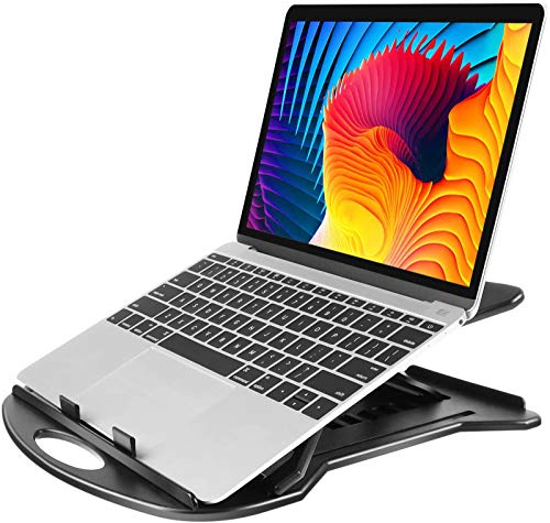 HUANUO Adjustable Laptop Stand, 360 ° Swivel Laptop Riser Fits 11-15.6 inch Laptop, Tablet, Notebook