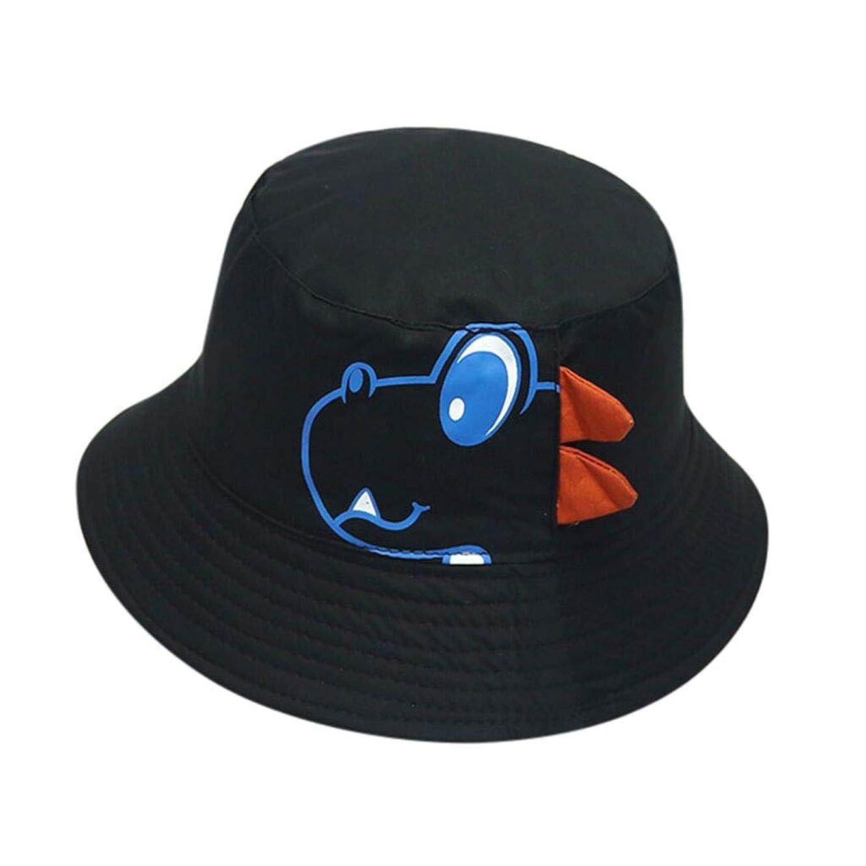 Randolly Kids Hat ?? Baby Boy Hats Dinosaur Thin Soft Cotton Sunhat Eaves Baseball Cap Sun Hat Beret