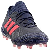 adidas Womens Nemeziz 17.1 Firm Ground Soccer Casual Cleats, Blue, 9