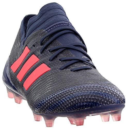 adidas Womens Nemeziz 17.1 Firm Ground Soccer Casual Cleats, Blue, 7