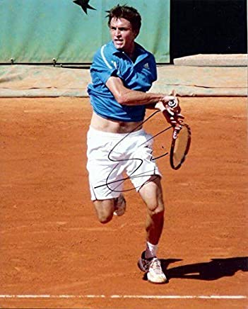 Autographed Gilles Simon Photo - 8x10 - Autographed Tennis Photos