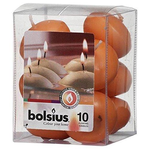 Bolsius Schwimmkerzen 30/45MM 10PCS–Mango
