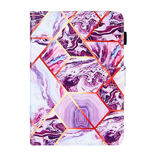 JIan Ying Case for iPad mini (2019)/iPad mini 5 Slim Lightweight Peint Protector Cover Purple marble