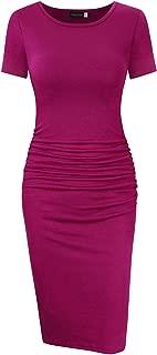 fuchsia pencil dress