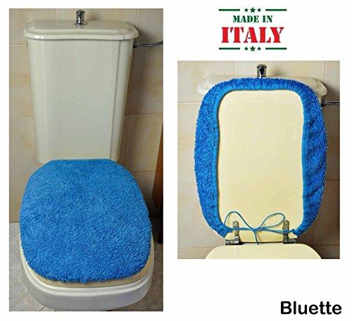 CASA TESSILE Copri ASSE WC Cotone MP - Bluette