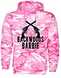 Southern Designs Backwoods Barbie Pink Camo Hoodie (Large, Pink Camo)