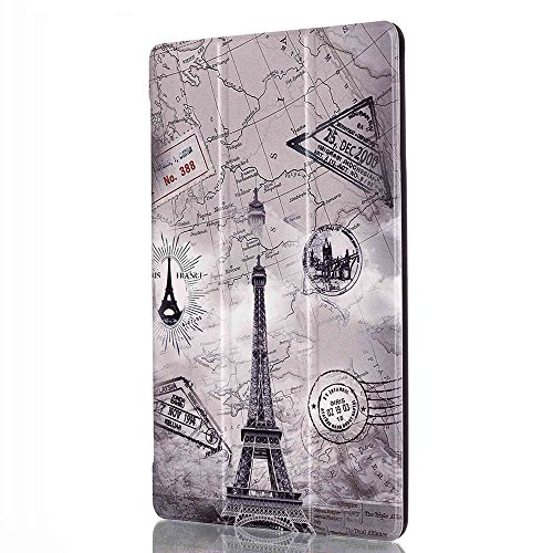 Lenovo Tab 2 A8 Case, Lenovo Tab3 8 Case, WITCASE Premium PU Leather Folio Case Stand Cover for Lenovo Tab 2 A8-50 2015 / Lenovo Tab 3 TB3-850F 2016 Release 8-Inch Tablet - Tower
