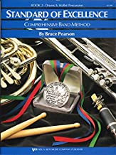 Download W22PR - Standard of Excellence Book 2 - Drums and Mallet Percussion (Standard of Excellence - Comprehensive Band Method) PDF