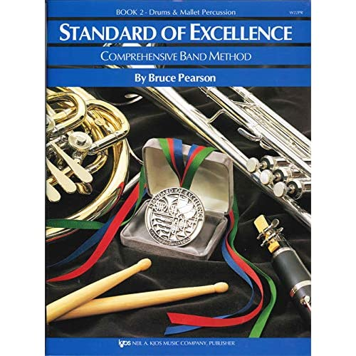 Standard of Excellence Band Method W22PR Drums /& Mallet Percussion Book 2