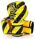 Fairtex Guantes de boxeo de microfibra Muay Thai Boxing - BGV14, BGV1 Edición Limitada, BGV12, BGV11, BGV45