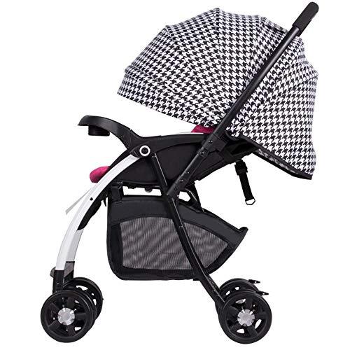 ZhiGe Kinderwagen Sport Hoch-Sicht Kinder transporthänger kann Auto Reversible faltbaren Kinderwagen 66 * 54 * 101 cm liegen