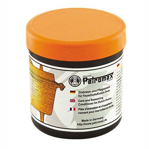 Pflegepaste für Petromax Guss- und Schmiedeeisen, 250 ml - Einbrennpaste Feuertopf Dutch Oven Schutz Reinigung Paste