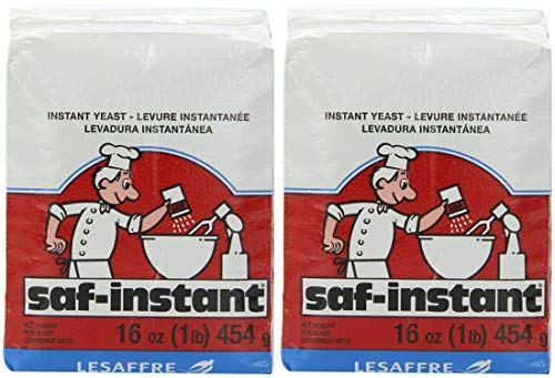 Saf Instant Yeast, 1 Pound Pouch - 2 Pack