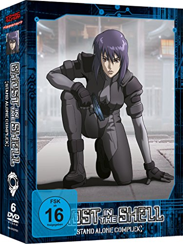 Ghost in the Shell - Stand Alone Complex: Staffel 1 (6 DVDs)