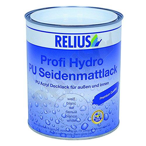 Relius Profi Hydro PU Seidenmattlack weiß 2.5 Liter