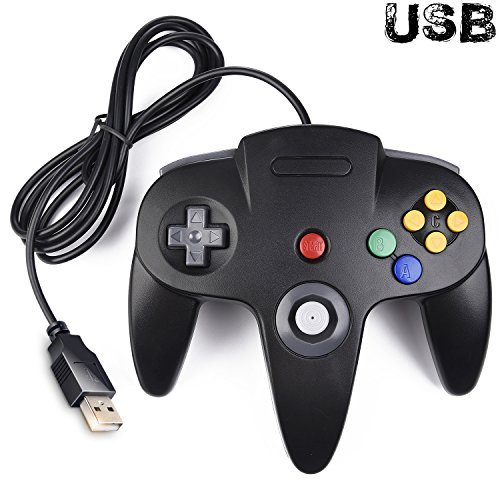 Classic N64 Controller, iNNEXT N64 Wired USB PC Game pad Joystick, N64 Bit USB