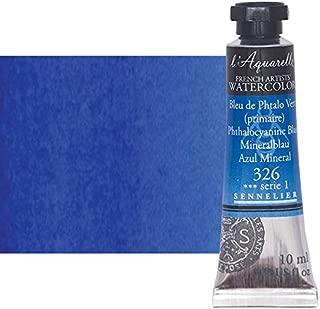 Sennelier l'Aquarelle Watercolor Tubes 10ml - Phthalo Blue 10ml Tube