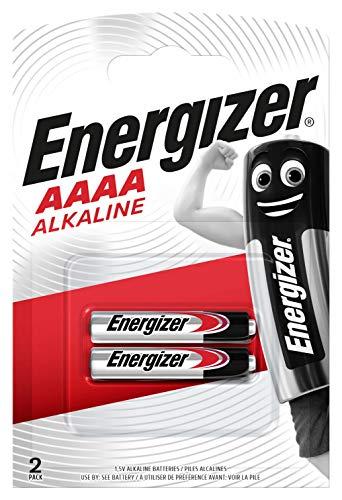 Energizer Ultra+ LR61 Mini AAAA 1.5V Alkaline-Batterien, 2-er Pack