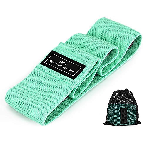 Resistance Bands for Legs and Butt Non Slip Workout Bands Non Roll Up Exercise Bands Thick Fabric Booty Bands for Squats Thighs Pilates Standard Size Stretch Fitness Bands for Women