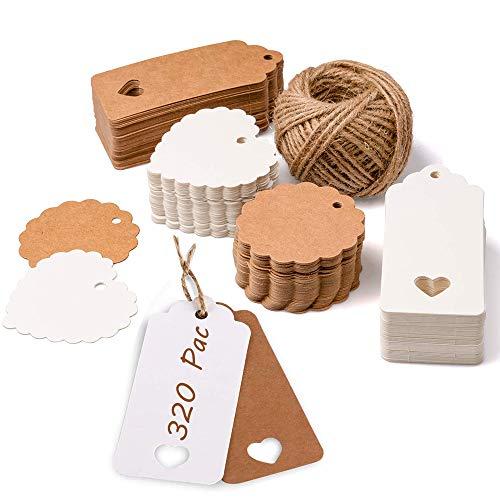 Kraftpapier Anhänger,Kraftpapier Anhänger Hochzeit,Etiketten Geschenkanhänger,Kraftpapier Anhänger Hochzeit,DIY Geschenkanhänger,Geschenkanhänger