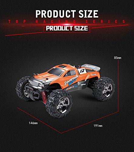 RC Auto kaufen Truggy Bild 2: SUBOTECH BG1510 LYL Ferngesteuerte Autos f r Draussen, RC Auto Elektrisch 4WD 1 24 RTR 40km h, 2 4ghz, Orange*