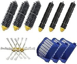 73JohnPol M/ódulo de ensamblaje del Cabezal de Limpieza del Marco del Cepillo Principal para Irobot Roomba Todas Las Piezas de la aspiradora 500600700 y Color: Azul