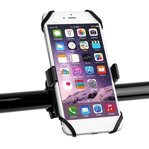 K-ONE Universal Fahrrad Fahrrad Motorrad Lenkerhalterung Handy Handyhalter Mit Silikon Unterstützung Für iPhone 6s Smartphone