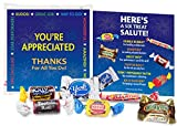 Full Color, 2-sided Presentation Card explains the fun and tasty contents that are symbols for your appreciation of staff members and employees Dubble Bubble Gum - For handling multiple tasks Smarties - For making educated decisions Milky Way Mini - ...