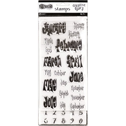 Ranger Set Dylusions Creative Dyary Stamp