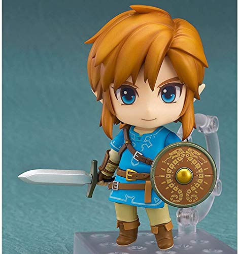 Link Breath of The Wild The Legend of Zelda Figura en Caja de edición Normal