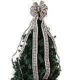 zlnSoft Árbol de Navidad Top Decoración, Arco de Navidad de...