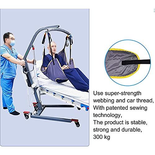 51fXcMzQl6S. SL500  - LHZHG Arnés para traslados, Cinturón de Transferencia - Grúa de Paciente - Paciente Cinturón De Transferencia para Bariátrico, Enfermería, Anciano, Discapacitado, Cuerpo Completo Y Postrado En Cama