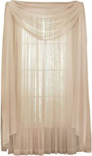Collections Etc Solid Sheer 215